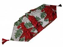 Vánoční běhoun / ubrus 34x170 cm gobelín