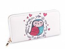Dámska peňaženka sova 10x19 cm
