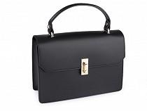 Kožená kabelka - dovoz Itálie 17,5x25 cm