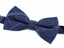 Cotton Checkered Bow Tie