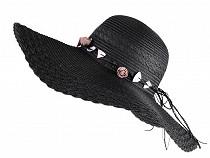 Dámský klobouk / slamák k dozdobení