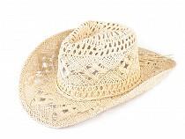 Cowboy kalap / szalmakalap díszíthető