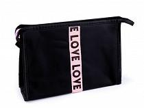 Kozmetická taška Love 16x23 cm