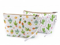 Cosmetic Bag Cactus, Pinapple 16x25 cm