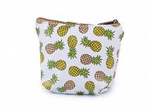 Peňaženka / puzdro kaktus, ananas 8,5x10,5 cm