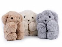 Kinder Pelz Handtasche / Rucksack Teddybär