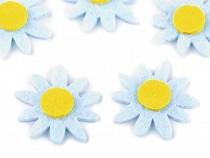Filcový kvet Ø30 mm slnečnica, margarétka