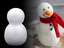 Sněhulák 4,5x7,5 cm polystyren