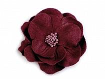 Flori textile 3D, Ø65 mm