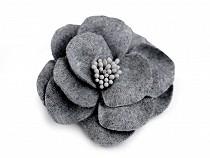 Gyapjú virág porzókkal Ø65 mm
