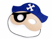 Detská karnevalová maska - škraboška pirát