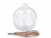 Skleněná koule Ø10 cm aerárium