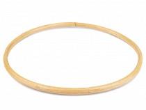 Ucha bambusowe do torebki / baza łapacz snów Ø20 cm