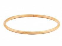 Mânere bambus  geantă / Cerc pentru prinzător de vise, Ø16,5 cm