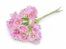 Blume auf Draht / Halbprodukt zum Arrangieren Ø25 mm