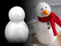 Sněhulák 6,4x8,8 cm polystyren