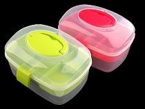Sortierbox / Kofferchen aus Kunststoff