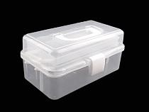 Sortierbox / Kofferchen aus Kunststoff ausziehbar