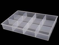 Műanyag doboz 23x24,5x4,5 cm
