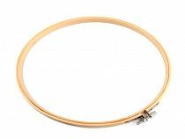 Vyšívací kruh  bambusový Ø25,5 cm