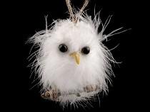Christmas Decoration Owl on Twig