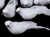 Dekorácia vtáčik / holubica malá