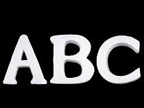 3D písmena abecedy polystyren