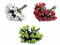 Kvetinové piestiky na drôtiku / výväzok