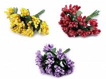 Pistils floraux sur fil métallique
