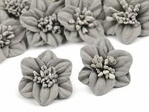 Blume mit Staubblättern Ø30 mm