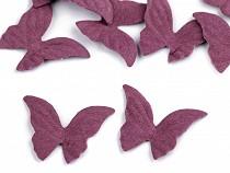 Fluturi material textil, 22x26 mm