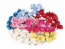 Růže na drátku / polotovar na vývazky Ø16 mm
