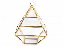 Piramida 10,8x15 cm terrarium / doniczka