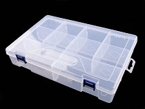 Sortierbox / Behälter aus Kunststoff 6x20x30 cm