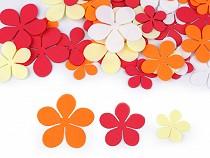 Pianka Foamiran kwiatki miks rozmiarów