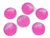 Bachelorette Party Pinback Buttons Ø5.5 cm