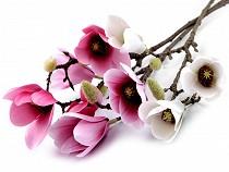 Duża, sztuczna gałązka magnolii