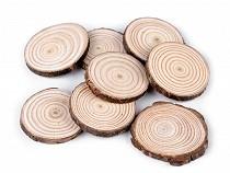 Prírodné drevené kolečko na domaľovanie