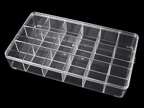 Sortierbox / Behälter aus Kunststoff 16,5x29 cm
