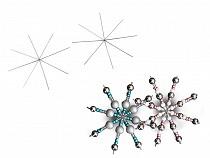 Gwiazda / śnieżynka - baza metalowa Ø9 cm