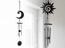 Metall Klangspiel klein Mond, Sonne