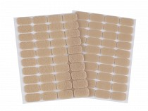 Hook And Loop Self Adhesive Rectangles 15x25 mm