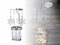 Anjelské zvonenie / vianočný kolotoč - vločka, víla