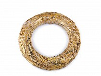 Straw Wreath Ø35 cm