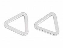 Schnalle / Schlaufe Dreieck flach Breite 20 mm