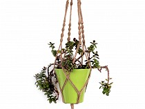 Jute Flower Pot Holder / Macrame Plant Hanger