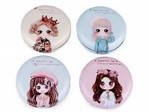 Cosmetic Pocket Mirror - Girl
