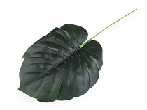Artificial Green Monstera Leaf