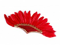 Party / Carnival Headband with Feathers