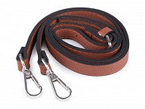 Long Eco Leather Strap / Handbag Strap with Hooks